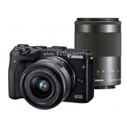 Canon EOS M3 Kit 15-45mm IS STM + 55-200mm IS STM