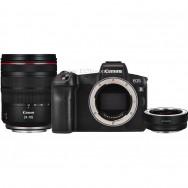 Canon EOS R Kit RF 24-105mm F4L IS USM + адаптер EF-EOS R